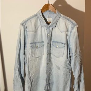 Distressed American Eagle Shirt